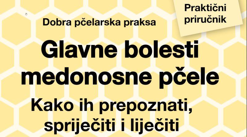 Glavne bolesti medonosne pčele – priručnik